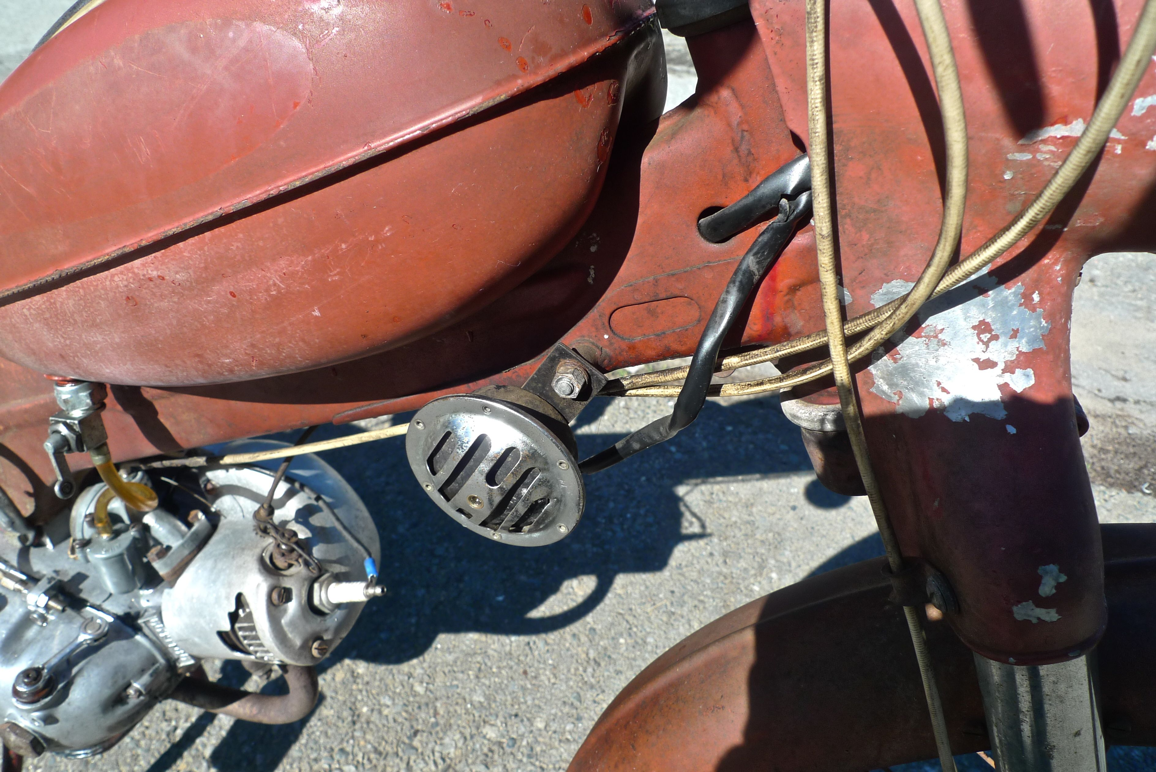 1956 PUCH ALLSTATE MOPED MS50 SOLD | Smashing British Cars